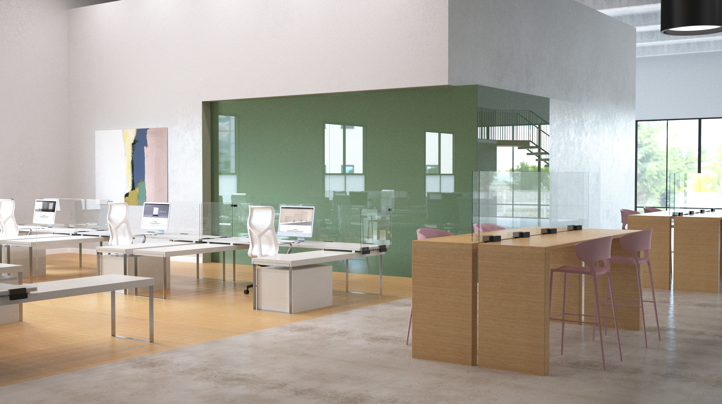Divide ThinLine, Open Office Space Division